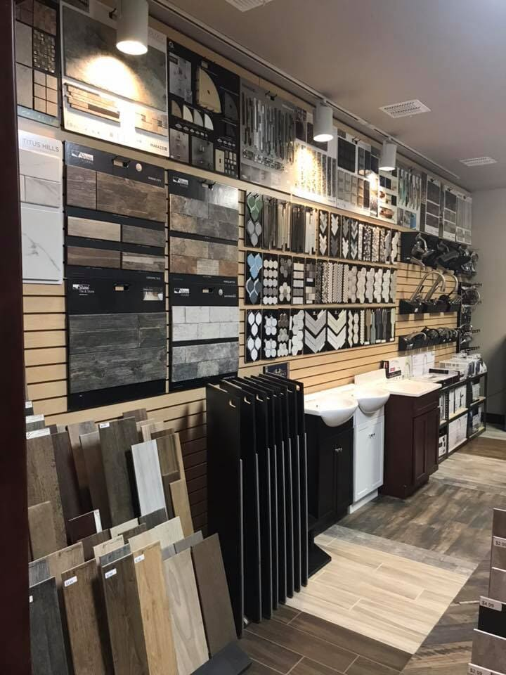 Tile and bath remodel products available at All American Home Center in Chickasha, OK