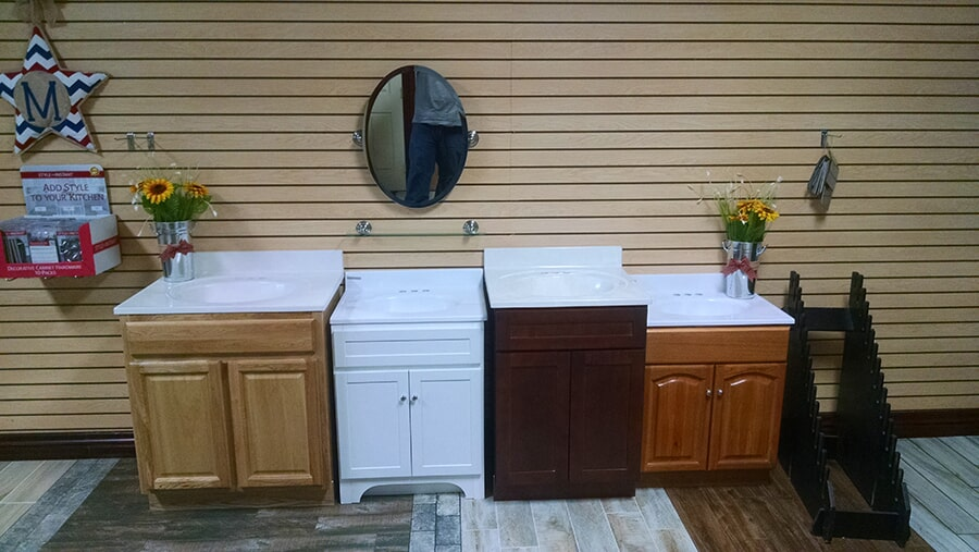 Vanities available at All American Home Center in Chickasha, OK