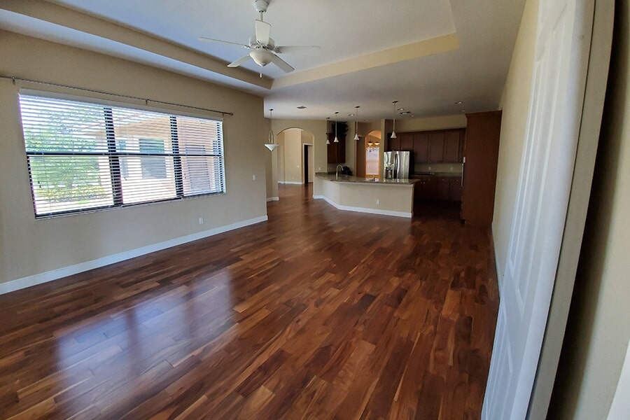 Cala Acacia Hardwood Floor installed in Jensen Beach