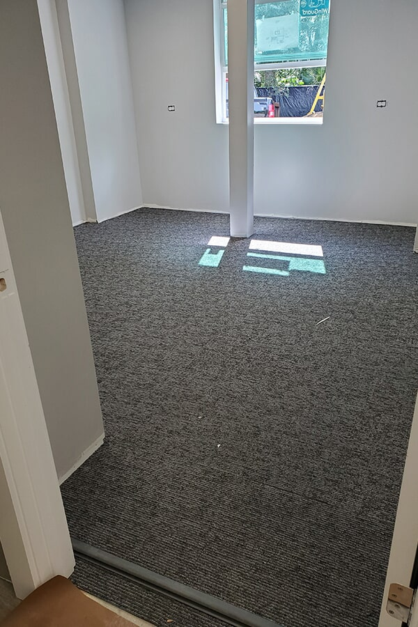SFI Firefox Browser Carpet Tiles in Stuart office
