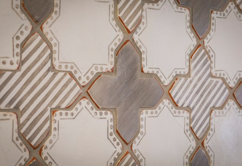 Rustic patterned tile in Lake Oswego, OR from All Surfaces