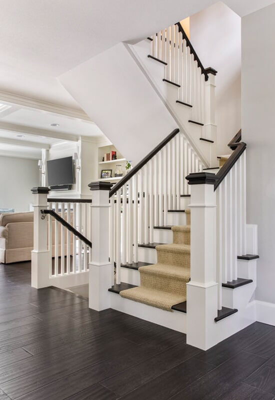 Carpet stair runner in Portland, OR from All Surfaces