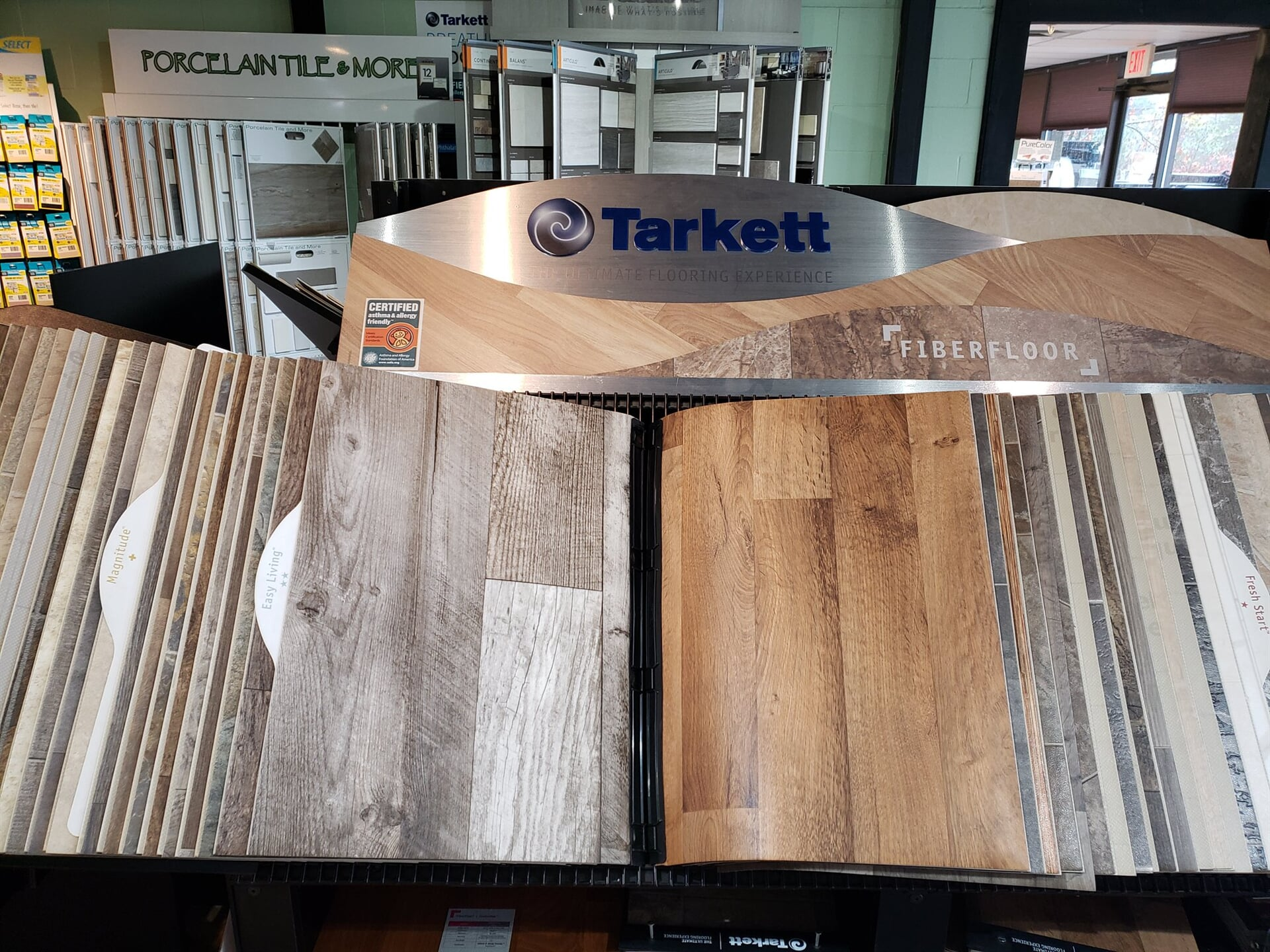 Tarkett Fiberfloor for your Nashua, NH home from ADF Flooring LLC