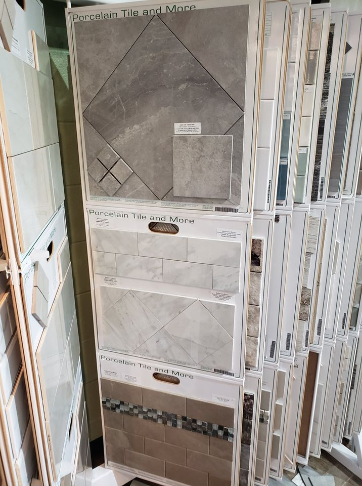 Porcelain Tile and More for your Plymouth, NH home from ADF Flooring LLC
