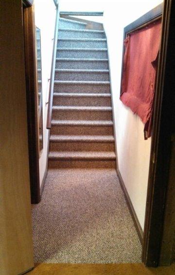 Berber carpeted stairs in Berlin NH from ADF Flooring LLC