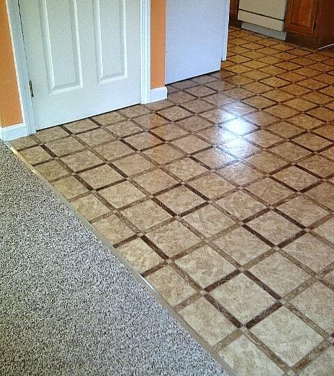 Gerflor vinyl flooring & hall berber carpet in Concord NH