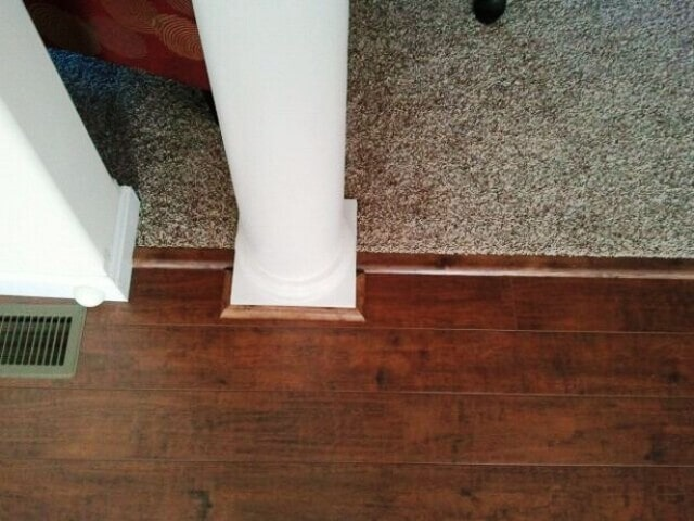 Perfectly installed hardwood flooring in Manchester, NH from ADF Flooring LLC