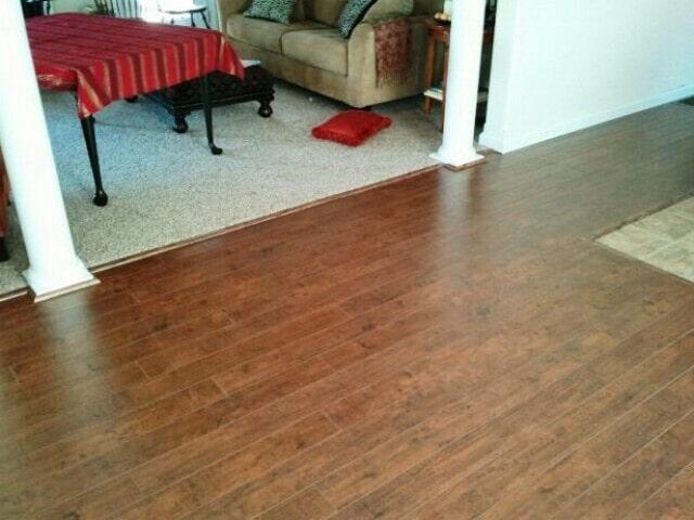 Natural grain hardwood flooring in Plymouth, NH from ADF Flooring LLC