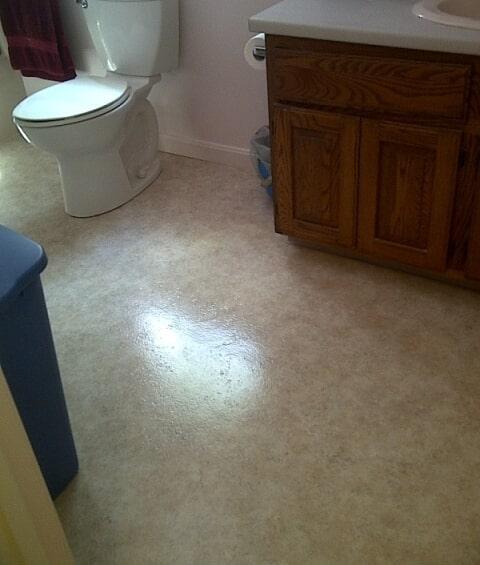 Waterproof bathroom flooring in Plymouth, NH from ADF Flooring LLC