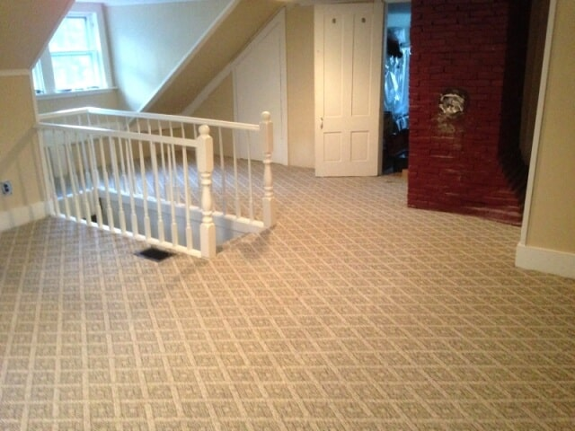 Ornate patterned carpet flooring in Manchester, NH from ADF Flooring LLC