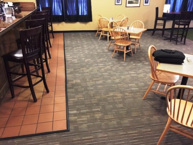 Commercial carpet and tile installation in Plymouth, NH from ADF Flooring LLC