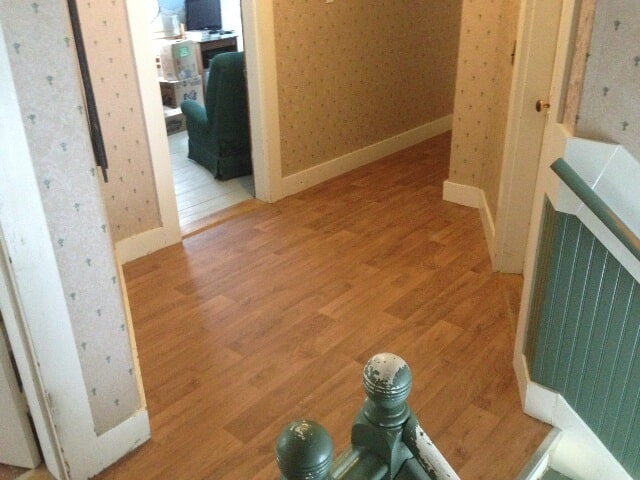 Classic wood look commercial flooring in Plymouth, NH from ADF Flooring LLC