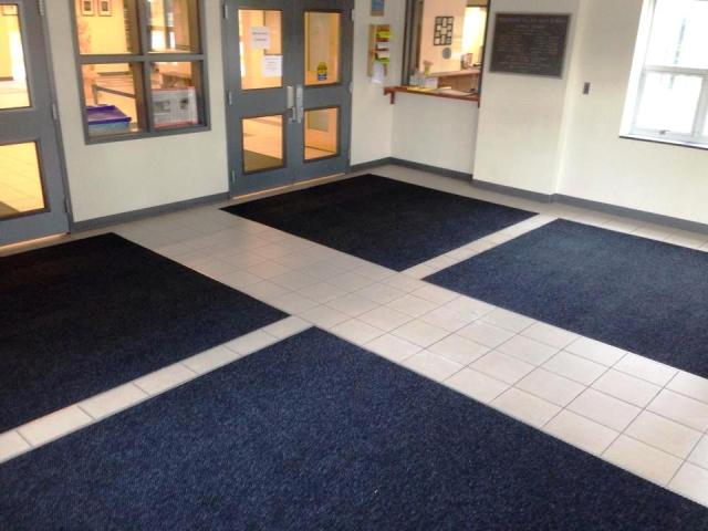 Commercial floor mats and tile in Nashua, NH from ADF Flooring LLC
