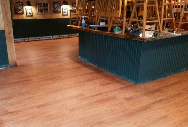 Restaurant wood flooring in Manchester, NH from ADF Flooring LLC