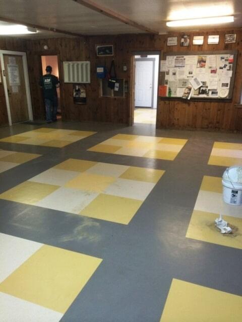 Custom commercial flooring in Plymouth, NH from ADF Flooring LLC