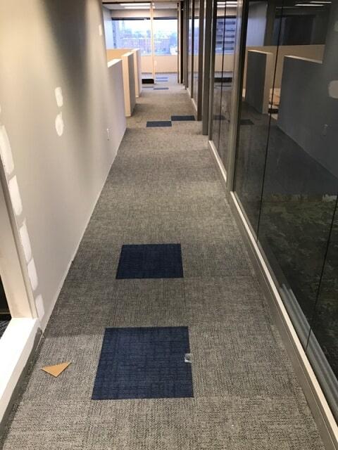 Modern office flooring in Plymouth, NH from ADF Flooring LLC