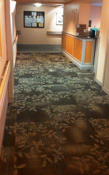 Carpet tile installation in Berlin, NH from ADF Flooring LLC