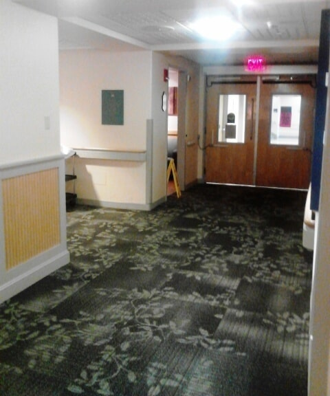 Commercial carpet tile installation in Berlin, NH from ADF Flooring LLC