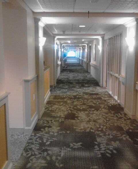 Commercial patterned carpet in Berlin, NH from ADF Flooring LLC