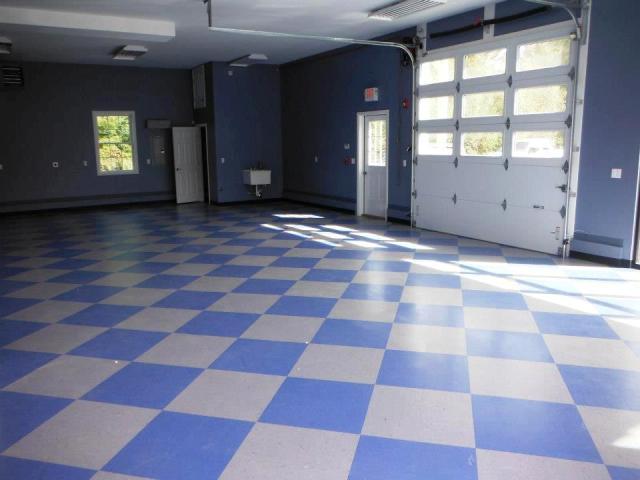 Garage flooring installation in Manchester, NH from ADF Flooring LLC