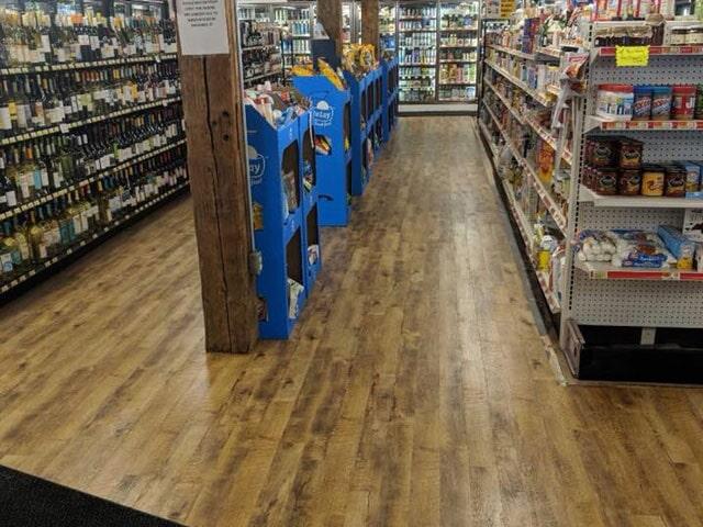 Convenience store flooring in Nashua, NH from ADF Flooring LLC