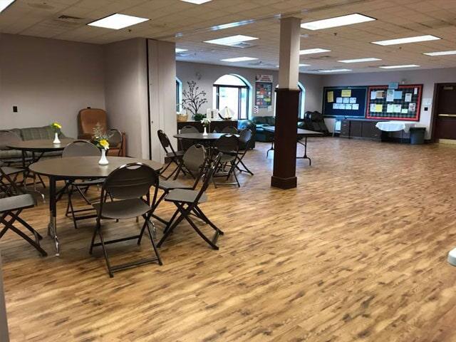 Commercial vinyl flooring in Plymouth, NH from ADF Flooring LLC