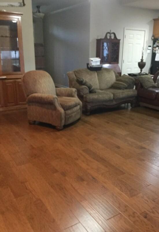 Hardwood flooring from Steve Hubbard Floor Covering in Ascension Parish, LA