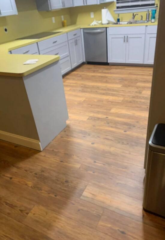 Luxury vinyl plank flooring from Steve Hubbard Floor Covering in East Feliciana Parish, LA