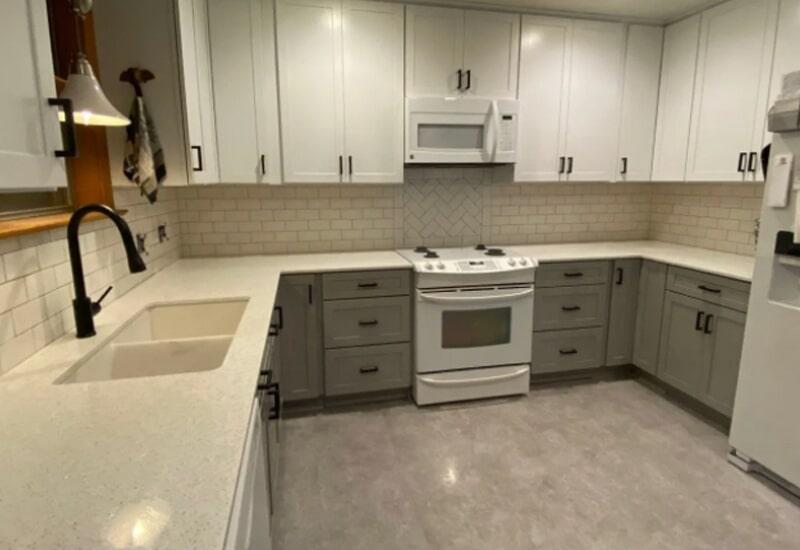 Kitchen tile from Steve Hubbard Floor Covering in Ascension Parish, LA
