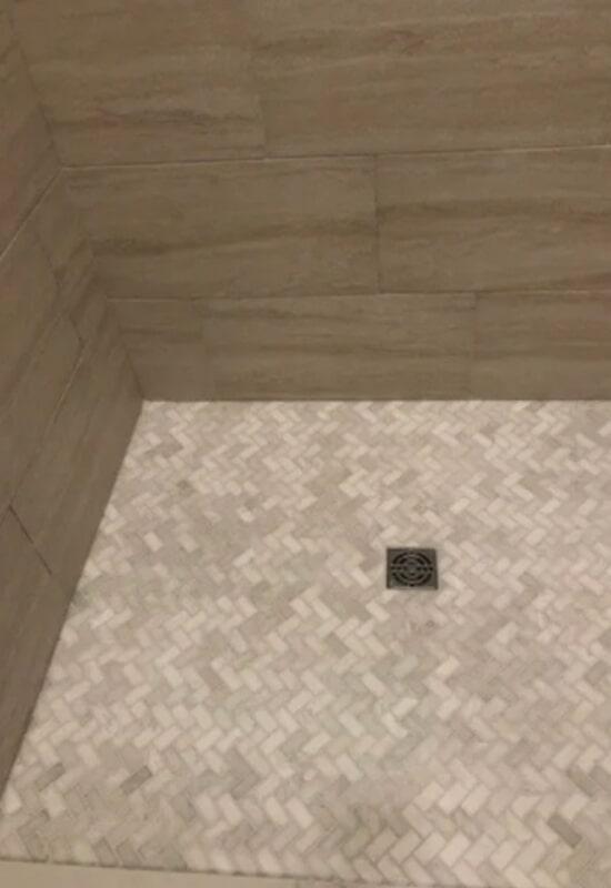Shower tile from Steve Hubbard Floor Covering in Ascension Parish, LA