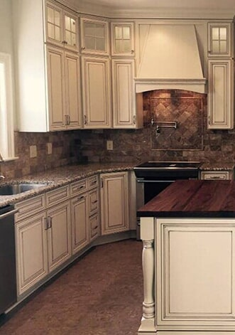 Dream kitchen renovation in Greenville, NC from Richie Ballance Flooring & Tile