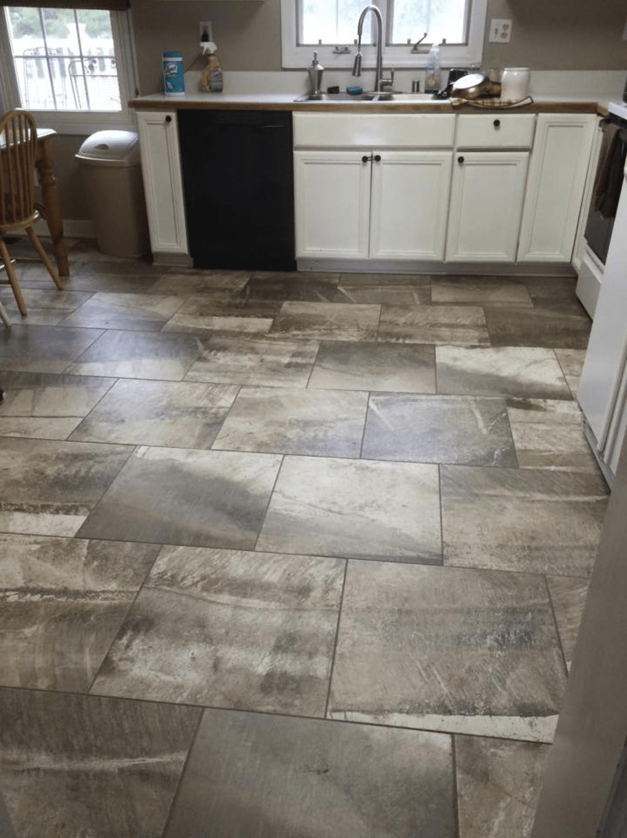 Tile flooring from Charles Tyre Flooring in Middletown, DE
