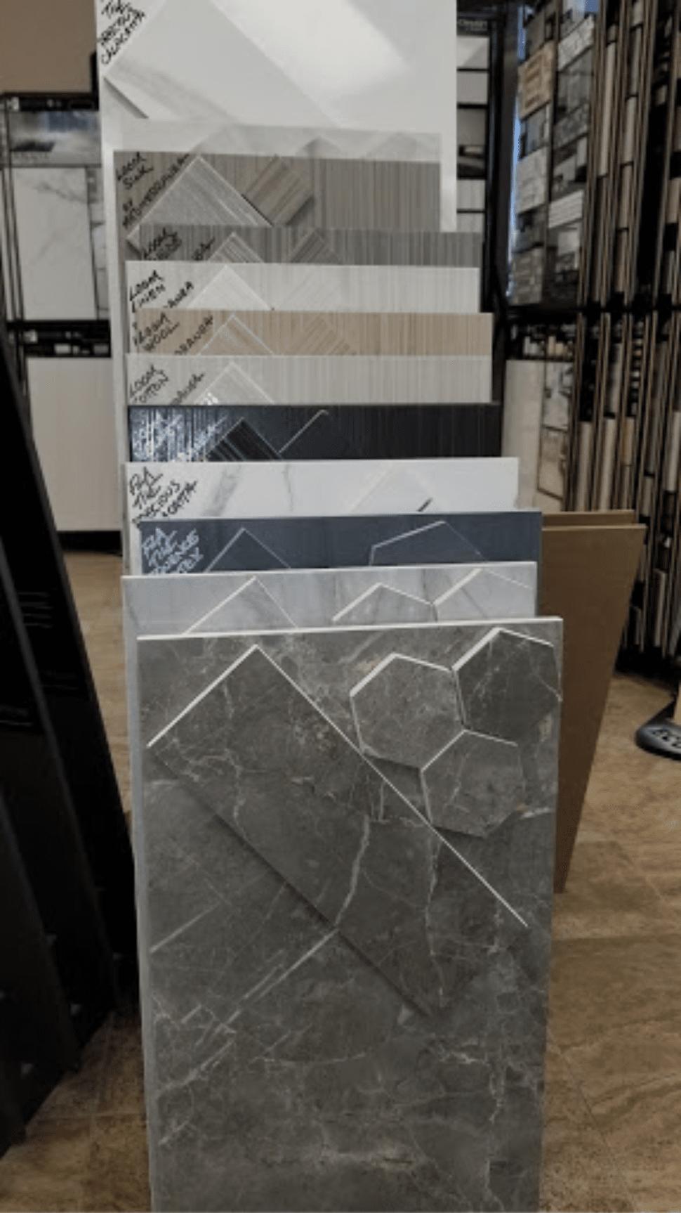 Stone tile from Charles Tyre Flooring in Middletown, DE