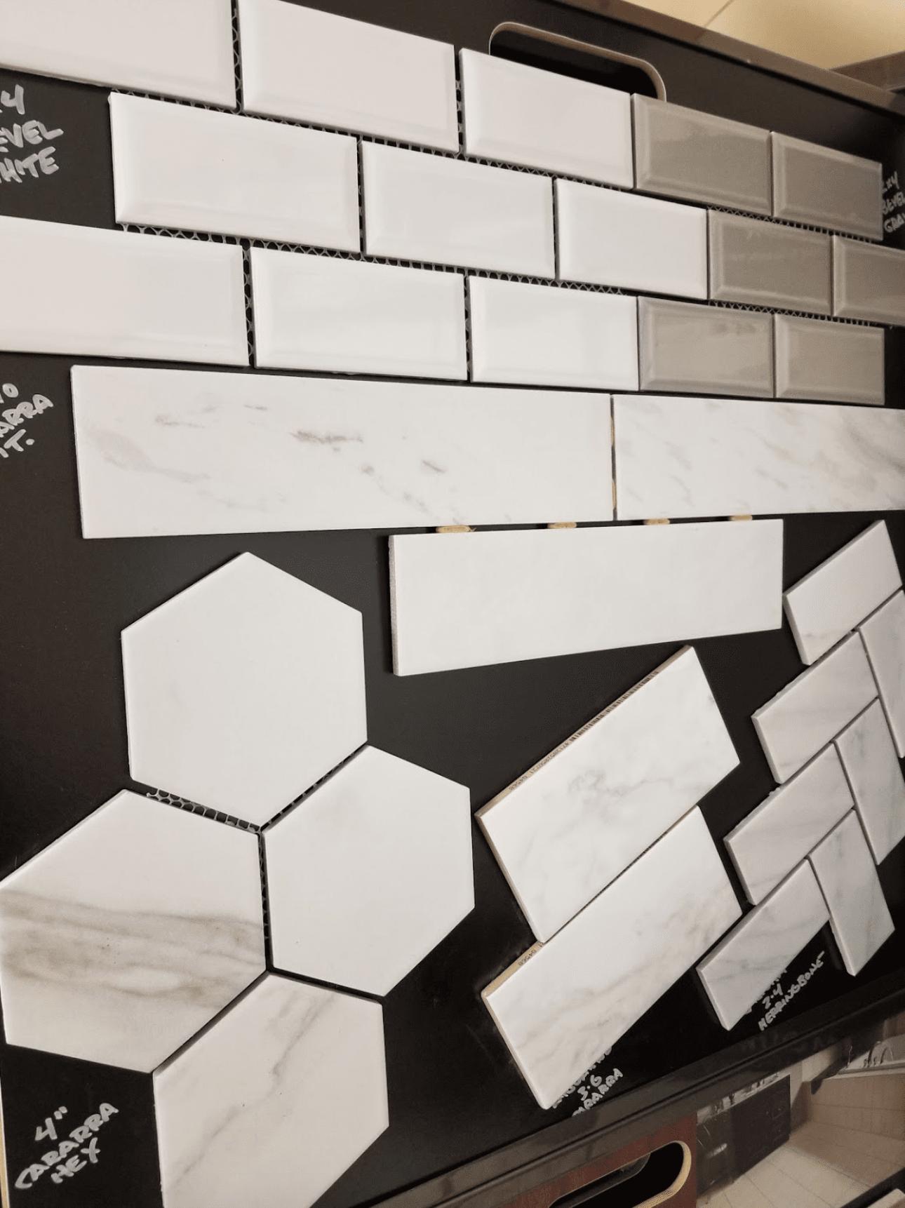 Backsplash tile from Charles Tyre Flooring in Odessa, DE