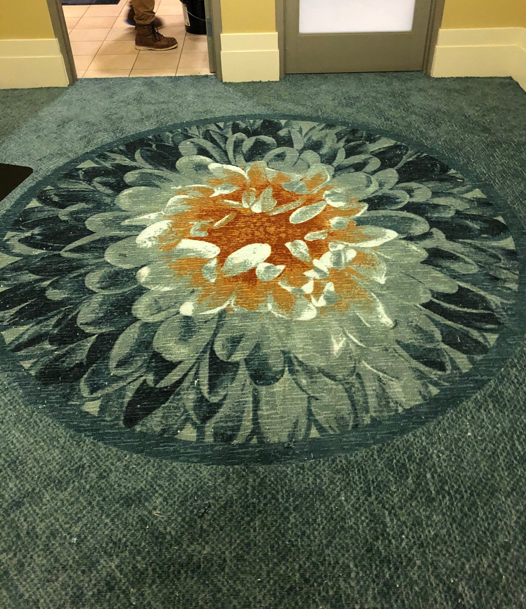 Decorative carpet flooring from StarFloors in Plano, TX