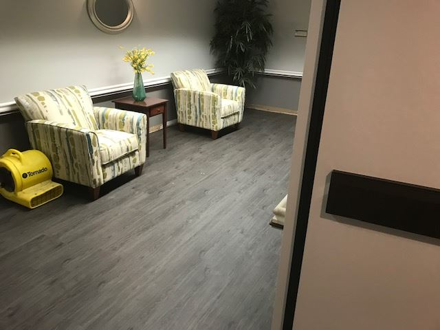 Vinyl plank commercial flooring from StarFloors in Allen, TX