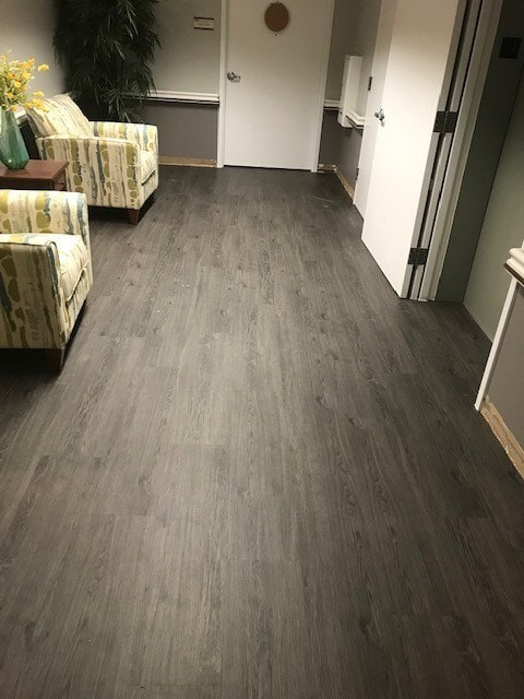 Vinyl plank commercial flooring from StarFloors in Plano, TX
