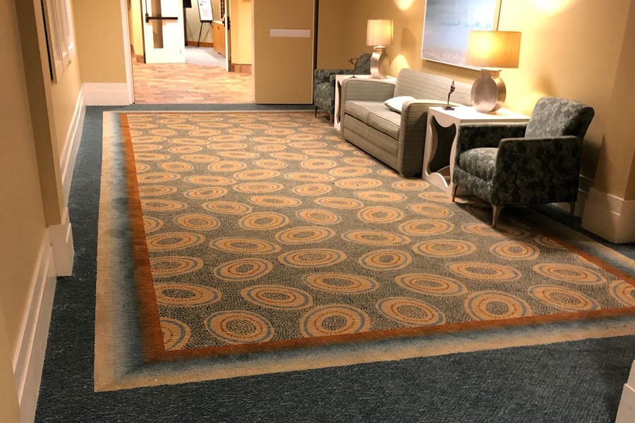 Commercial carpet flooring from StarFloors in Plano, TX
