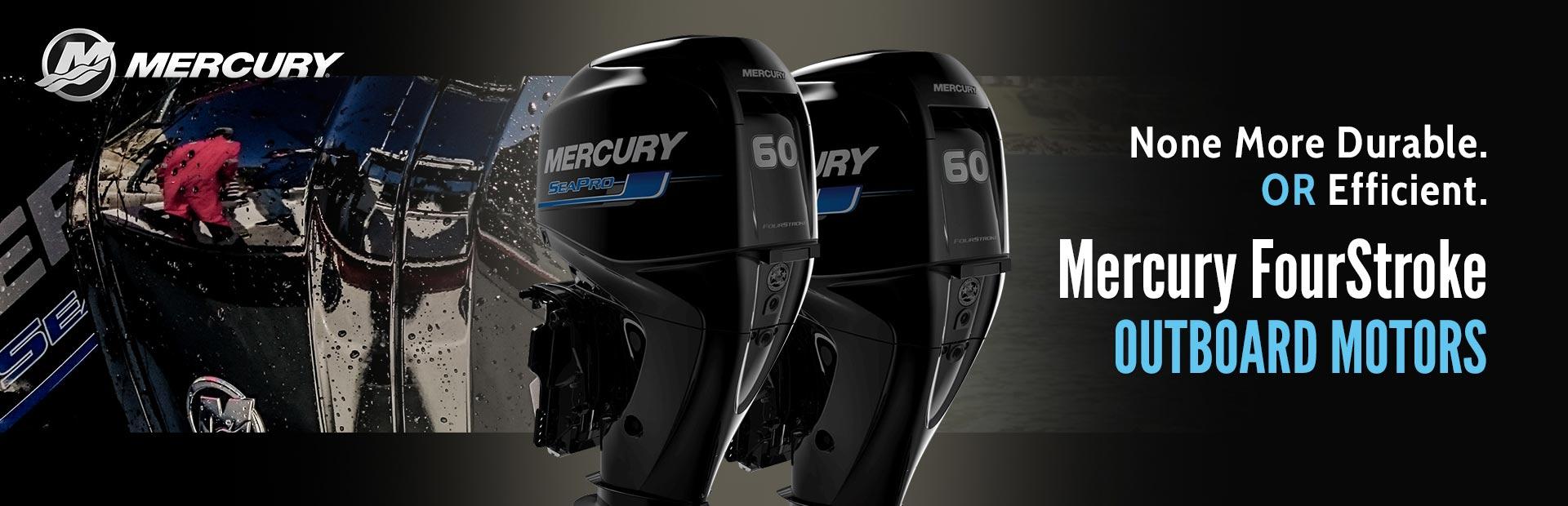 Mercury boat engine
