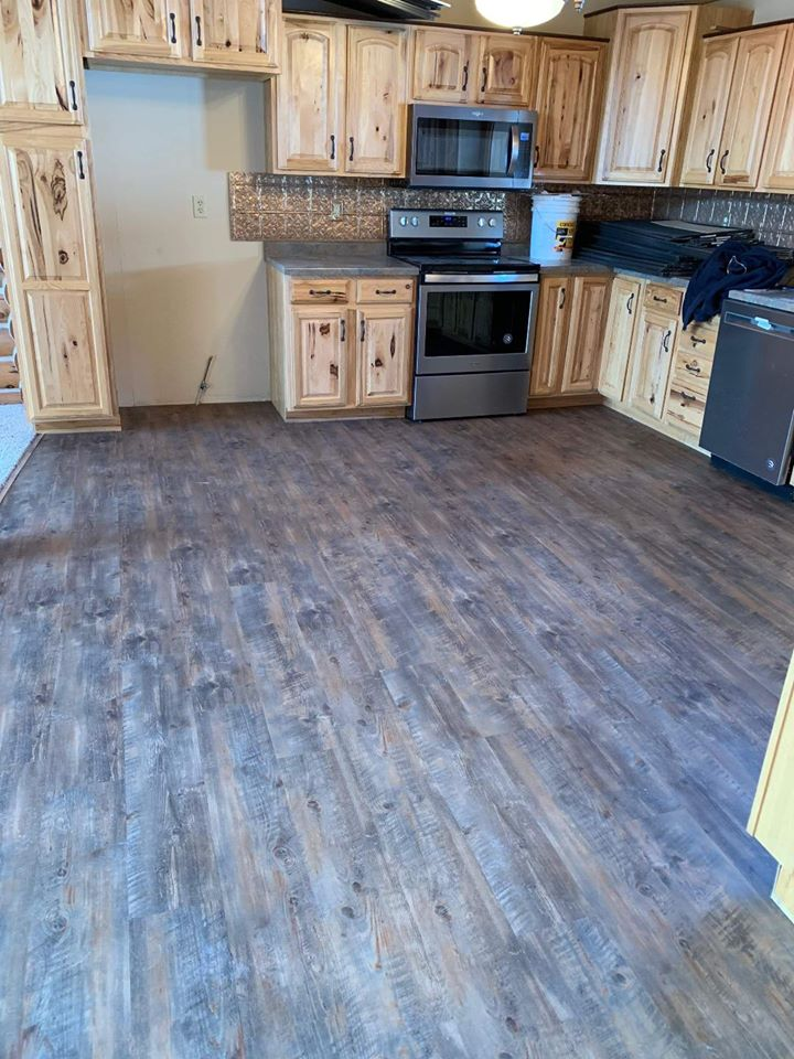 Luxury vinyl plank flooring from StarFloors in Southlake, TX