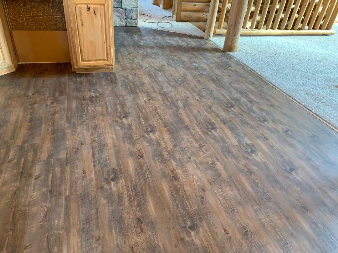 Luxury vinyl flooring from StarFloors in Allen, TX