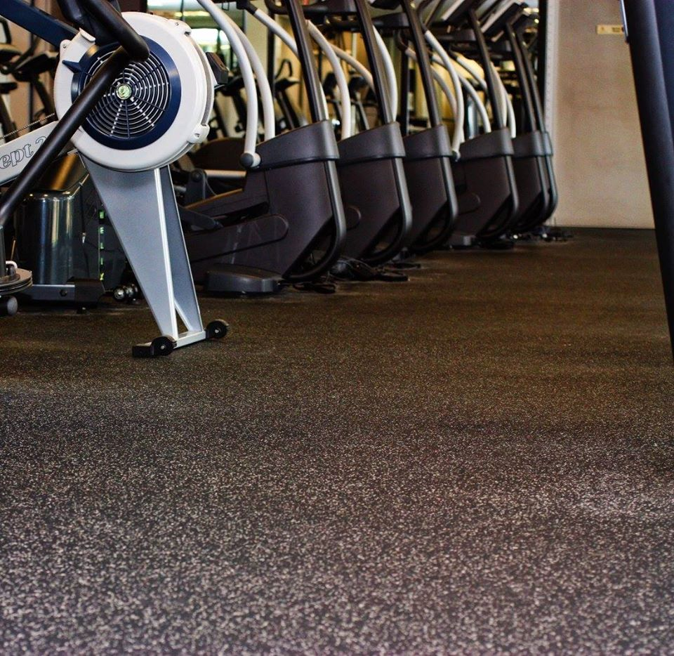 Commercial gym flooring from StarFloors in Dallas, TX
