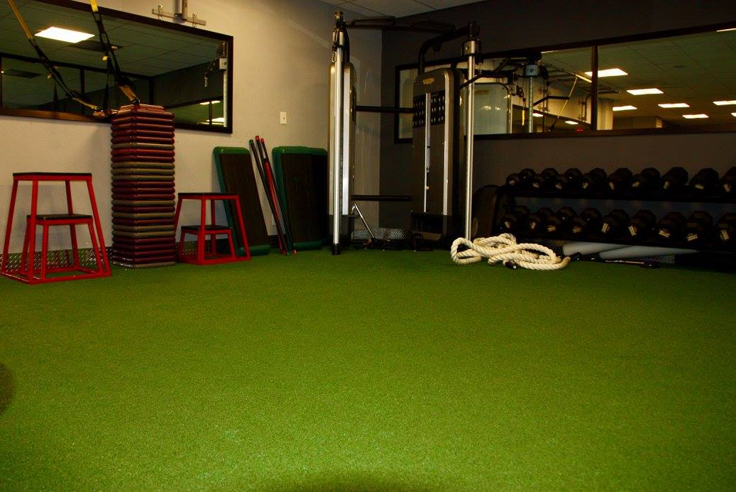 Turf flooring from StarFloors in Allen, TX