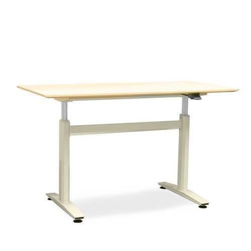 Talk - criada visando ampliar as possibilidades ergonômicas que uma mesa para escritório pode ter.