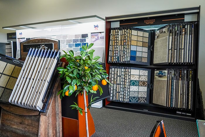 Walk through our Redlands, CA showroom and find the perfect product for your home