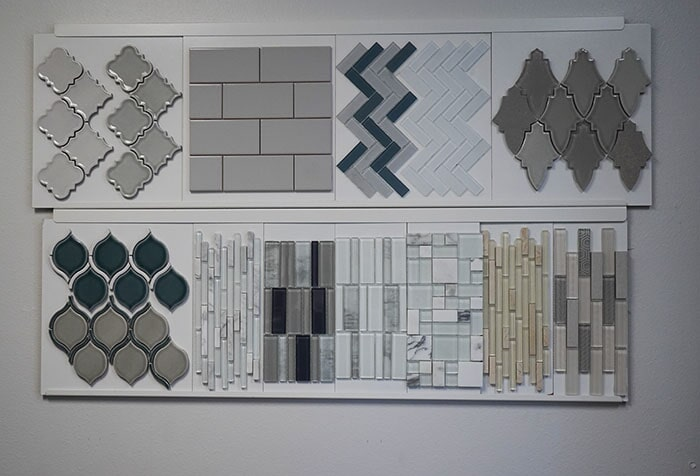 Choose from modern accent tile designs for your Highland, CA kitchen or bathroom redesign