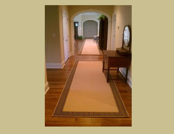 Custom hardwood and area rugs in Huntersville, NC from Hall's Flooring