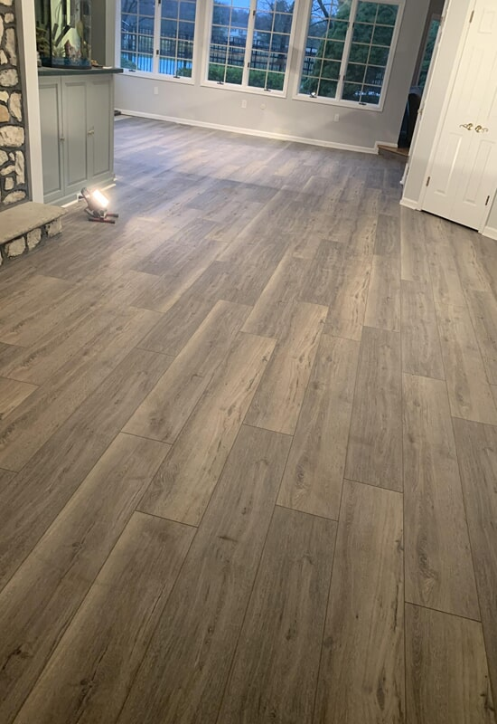 Luxury vinyl planks from Olden Carpet and Flooring in Newton, PA