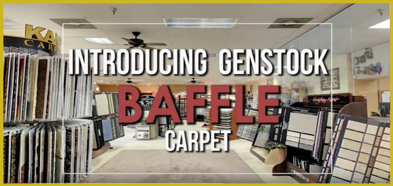 Introducing Genstock Baffle carpet from General Floor in Hackensack, NJ