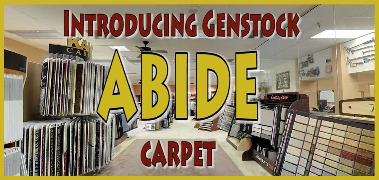 Introducing Genstock Abide carpet from General Floor in Lakewood, NJ